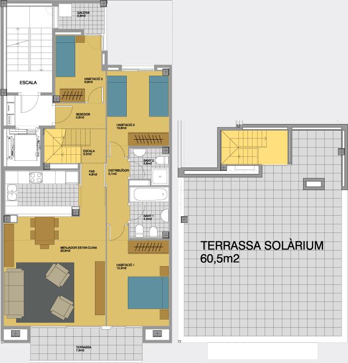 Solmunt l pisos a partir de 80m2 i sol rium l rycsa l - Constructora reus ...